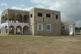 House Under Construction For Sale In Malindi.