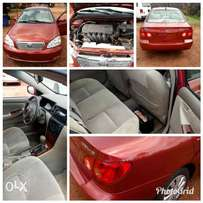 Clean tokunbo Toyota Corolla 2006 model at Great offer.