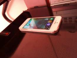 Apple iphone 5 64gb white and silwer for sale