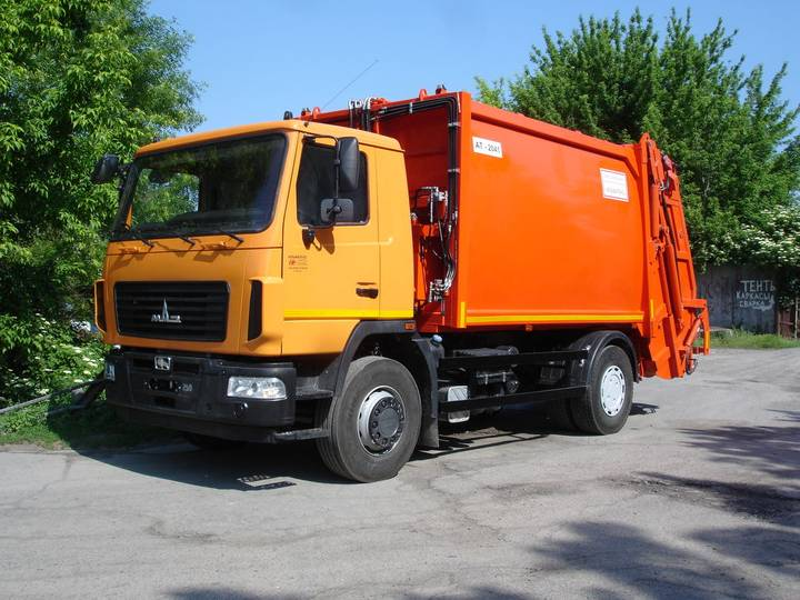 Maz new at 2041 na shassi  5340s2 garbage truck - 2019