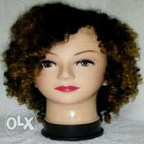3 Tone Ombre Human Hair Wig