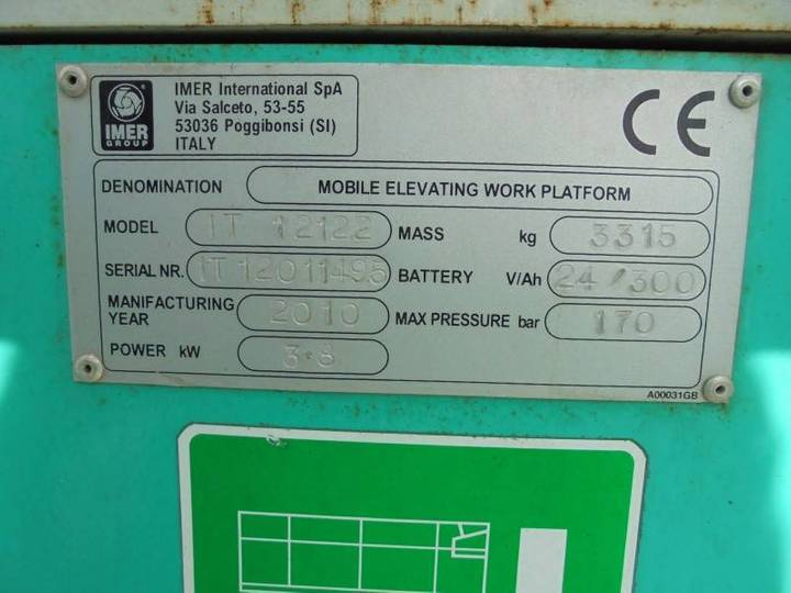 Iteco It12122 Elektro 13.90m New Batteries - 2010 - image 15