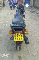 Clean Bajaj Boxer X 150 with less than 1 year in use