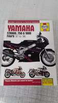 Yamaha FZR400, FZR600, FZR750, FZR1000 Workshop Manual For Sale
