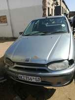 Fiat Siena el 2002 model , stripping for spares body and parts .