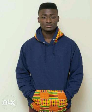 Ankara detailed Hoodies South C - image 2