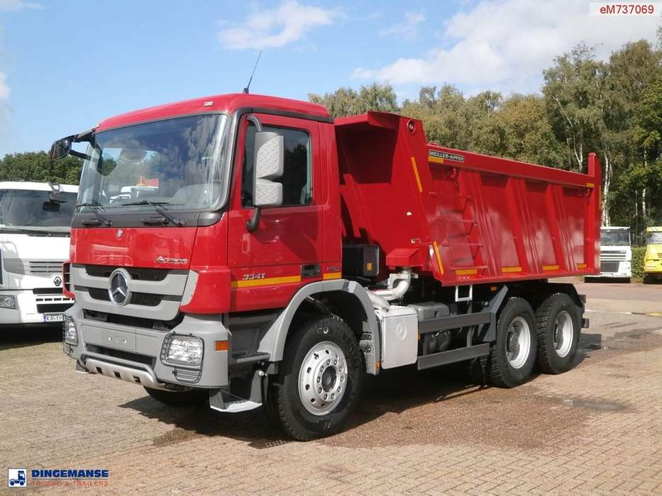 Mercedes-Benz Actros 3341 / 4041 6x4 Meiller tipper NEW/UNUSED - 2014