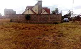residential plots for sale in ruiru in a well built up area
