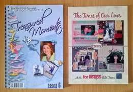 Scrapbooking. R50 for both.