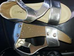 Gold sandals R200 comes in all sizes