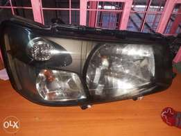 Subaru sg5 headlight xinon