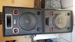 Speakers with amp for sale