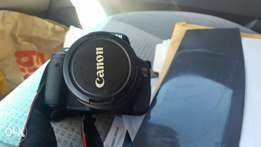 Canon 600D T3i with 18-55mm lens