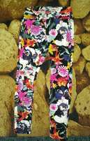 Liv Collection Floral Pants