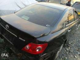 Toyota mark X kBT with damaged front part