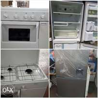 Fridges and cookers semi-new ex Italian available for quick sales