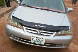 Neat Nigeria used Honda accord working in good condition.