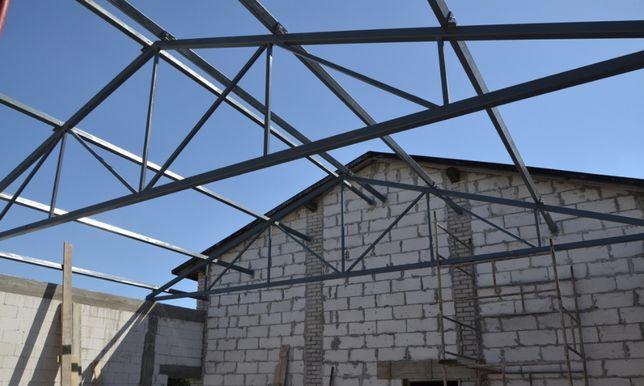 Genialny Kratownica Dachoa Wiązar Dach Wiata Konstrukcja Stalowa Bindry 10 GW54