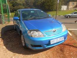 Toyota Corolla 1.6i Sprinter, 2007 model, Blue in color, Full house