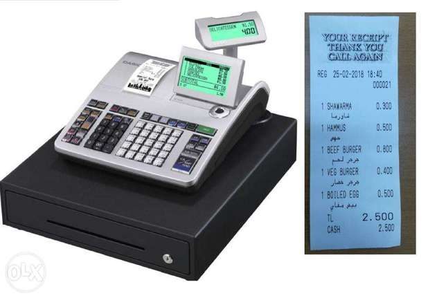 Arabic Supported Electronics Cash Register