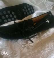 Italian Tods suede loafer shoe