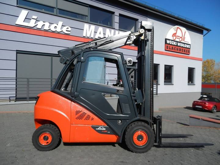 Linde H35D Side Shift - 2014