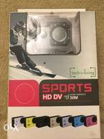 Sports HD DV action camera water resistant