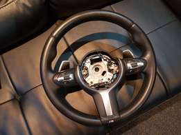 BMW Msports Steering Wheel F30 Like New