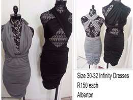 Dresses from R120 size 30 to size 40