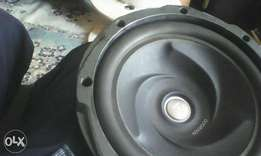 Kenwood subwoofer 1000watts ground shaking bass