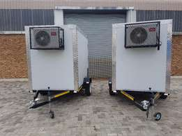 New freeze /cooler trailers for sale