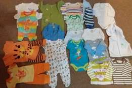 New born Boys 50 Items for R630