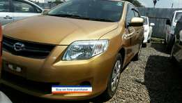 Clean Toyota fielder Gold colour,1.5cc 2009 model Buy on hire-purchase