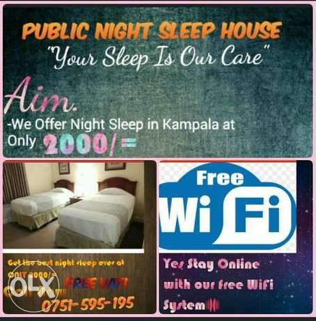 Public Night Sleep House Kampala - image 1