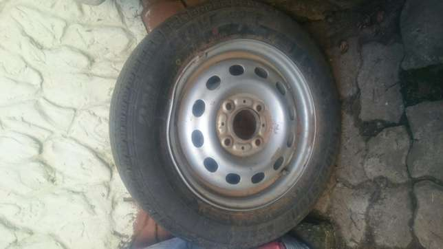 """13"""" tyer and rim for sale urgent Springs - image 1"""