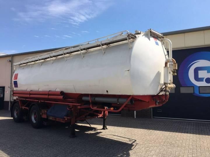 - Welgro 84WSL31-22 Silo-tank trailer - 1986