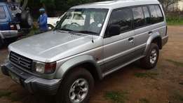 Pajero 7seater 4x4 for sale