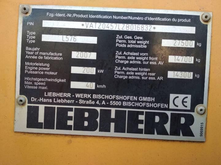 Liebherr L576 - 2007