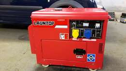 Generator for sale 6KVA SILENT RUNNING DIESEL GENERATOR *36 hrs only