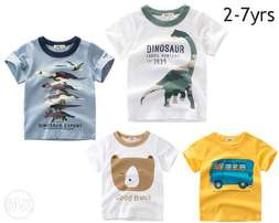 Nice Tshirt for girls 2-7yrs 100% cotton