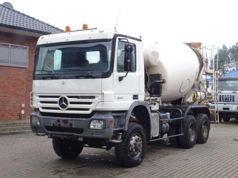 Mercedes-Benz ACTROS 3341 HORMIGONERA