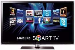 "Super clean 46"" Samsung full HD 1080p Digital Freeview HD LED Smart TV"