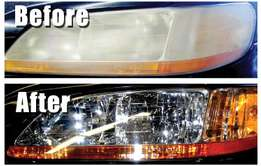 Motor Vehicle Headlight restoration