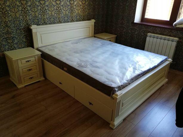 кровать с ящиками двуспальная деревянная кровать 10 900 грн