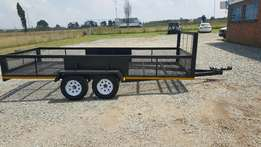 Open trailer, double axile, great condition.