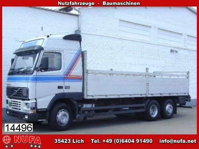 Volvo fh new 12-420 6x2 kran palfinge pk 15001 a.heck, - 2001