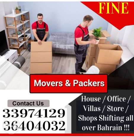 Fine mover packer house hold items shifting