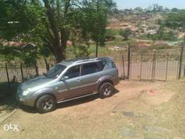 Ssangyong SUV Rexton 2006 forsale