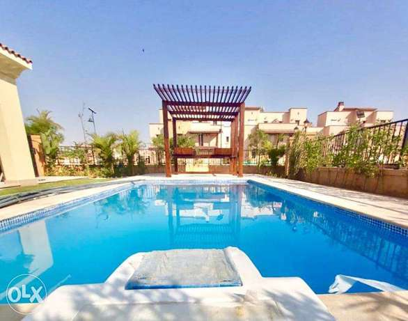 For Rent Luxury Villa With Swimming Pool in Compound Mivida Emaar