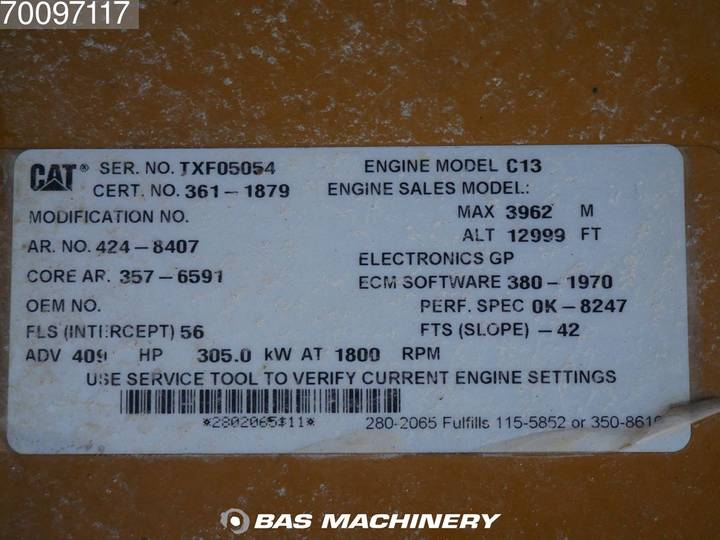 Caterpillar 349D LME Special price - more available - 2014 - image 18